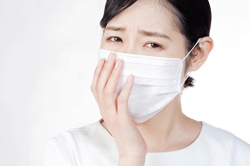 マスクによる皮膚トラブルはありませんか?